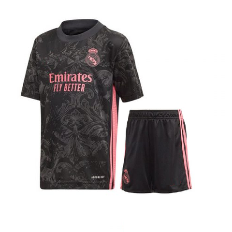 Kids/Youth Real Madrid 3rd Premium Jersey & Shorts 2020/21