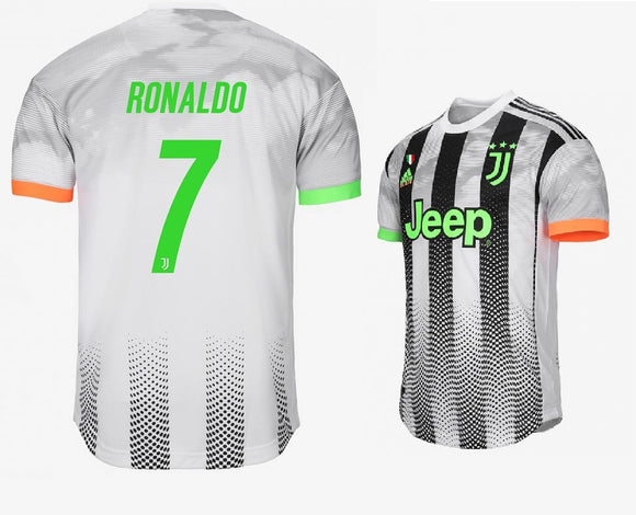 Original Ronaldo Juventus Palace Edition 4th Kit Jersey 2019/20 [with Italia logos] [Superior Quality]