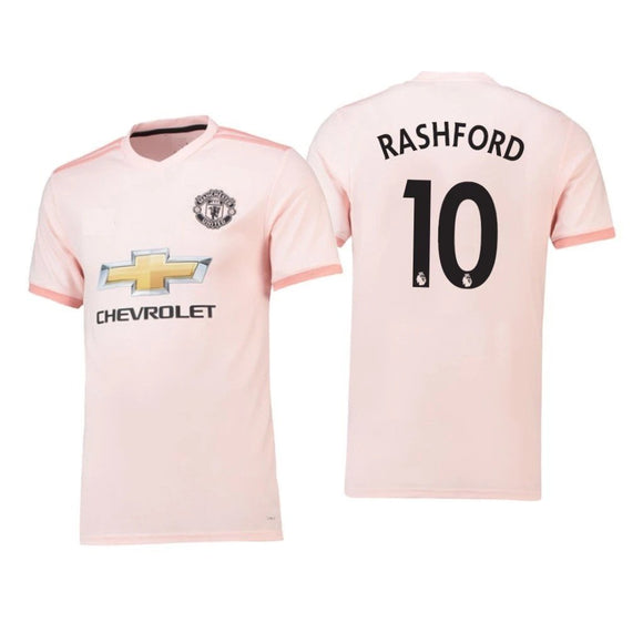 Original Rashford Manchester United Premium Away Jersey 2018-19 [Superior Quality]