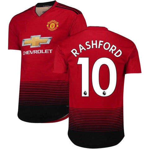 Original Rashford Manchester United Premium Home Jersey 2018-19 [Player's Jersey]