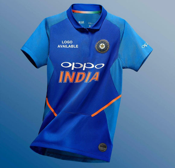 Original India One Day International Cricket Jersey 2019