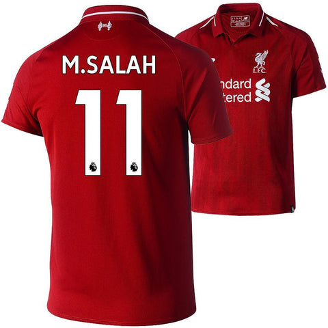 Original Mo Salah Liverpool Home Jersey 2018-19 [Superior Quality]