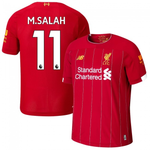 Mo Salah Liverpool Home [With UCL Badges] 19/20 [Superior Quality]
