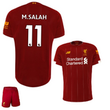 Original M. Salah Liverpool Premium Home Jersey & Shorts [Optional] 2019/20