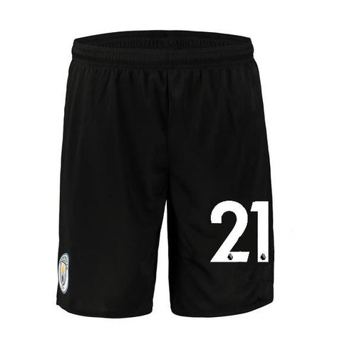 Original Silva Manchester City Premium Away Shorts 2018-19