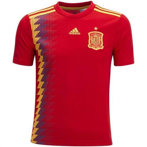 Spain International Home Jersey World Cup 2018 [Superior Quality]