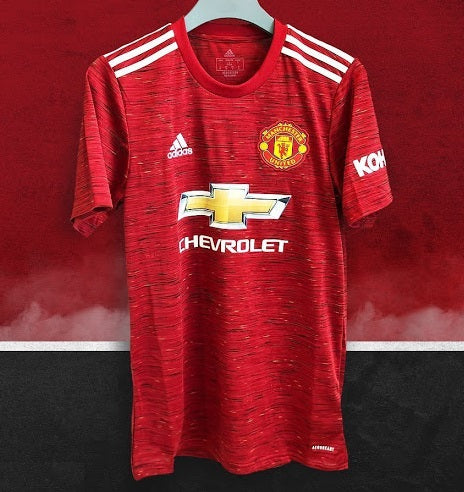 Manchester United Home Jersey 2020/21 [Superior Quality]