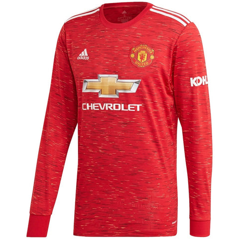 Manchester United Home Full Sleeve Jersey 2020/21 [Superior Quality]