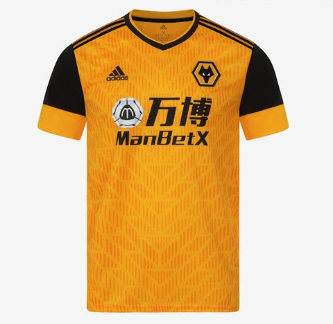 Wolves Home Jersey 2020/21 [Superior Quality]