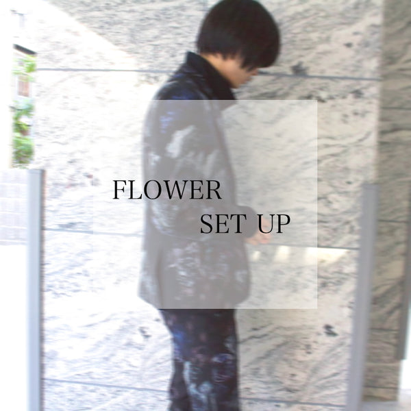 【STYLING】LAD MUSICIAN FLOWER SET UP