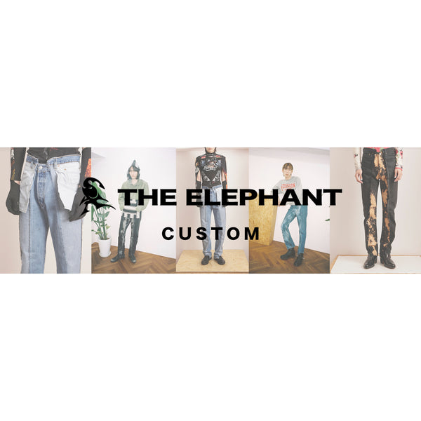 【NEW BRAND】THE ELEPHANT [ジエレファント] VINTAGE Re:MAKE ITEM
