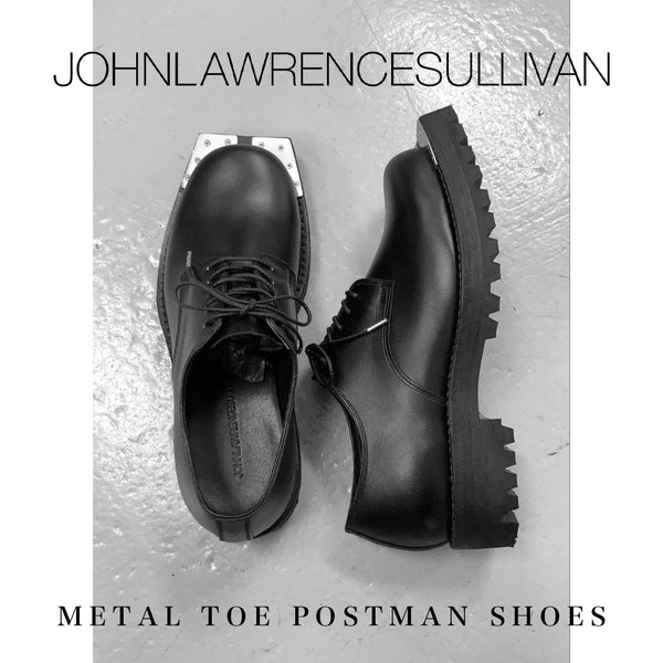 【PICK UP】JOHN LAWRENCE SULLIVAN [ジョン ローレンス サリバン] METAL TOE POSTMAN SHOESについて