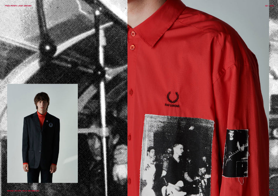 RAF SIMONS & FRED PERRY
