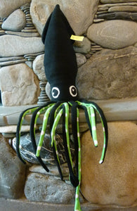 Squid Stuffed Animal - Ding Ding Dillio Crafts (click to see full collection of colours)