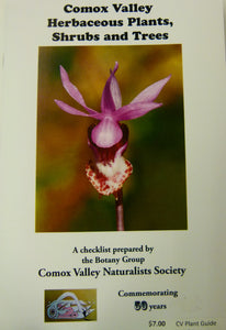 Comox Valley Herbaceous Plants, Shrubs and Trees