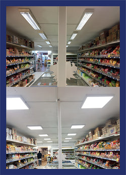 Supermarket Lighting Refurbishment - Panel Lights
