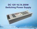 FluxTech - 12V DC Switching Power Supply Driver for LED Strips Light