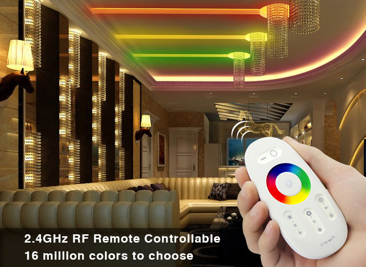 2.4G Touch RGB LED Strips Controller Set