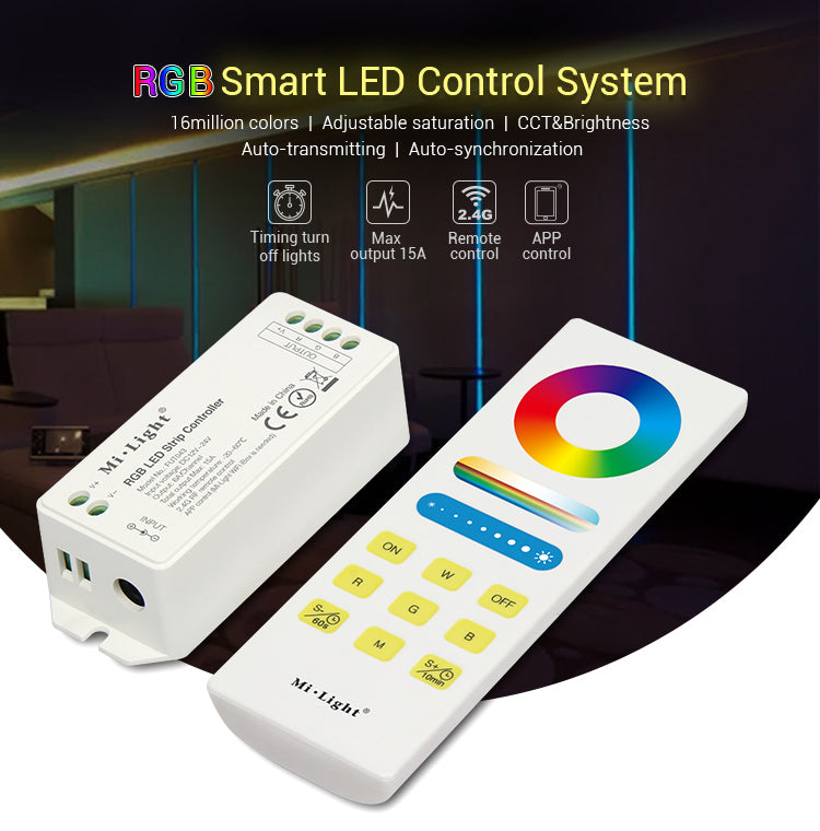 Smart RGB Multi-colour LED Strips Control Set