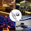 FluxTech - 4-Pin RGB LED Strip to Strip Connector for 10mm Waterproof 5050 LED Strip Light