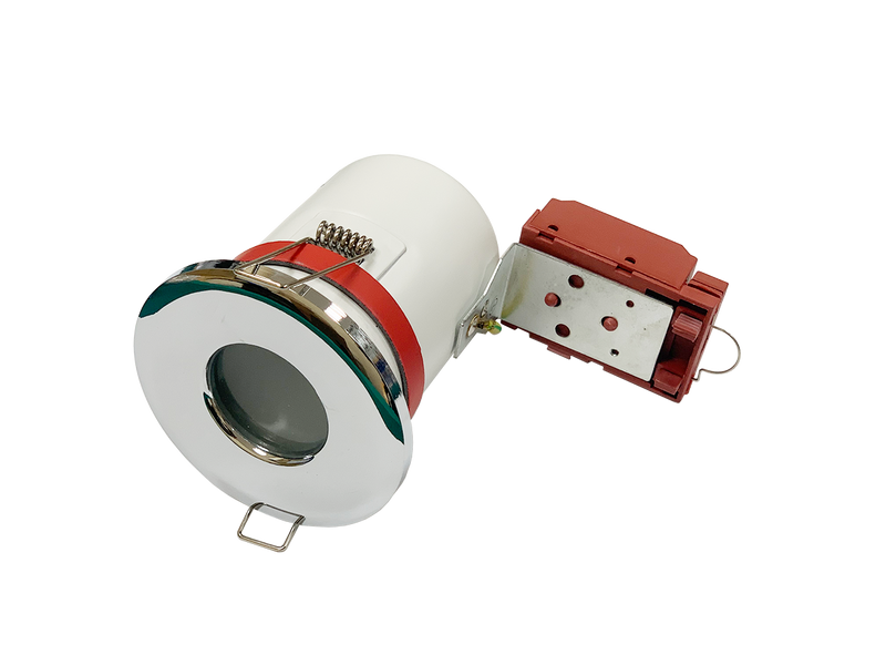 JustLED - IP65 Fire Rated GU10 Downlight Fitting for Recessed Mounting