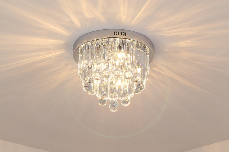 FluxTech - Modern Jewel Diamond Crystal Chandelier Ceiling Light
