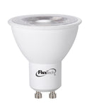 FluxTech - 5W Value LED COB GU10 LED Spot Light  [Energy Class A++]