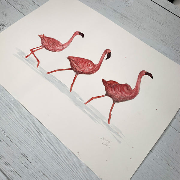 Flamingos - Original (1 of 1)