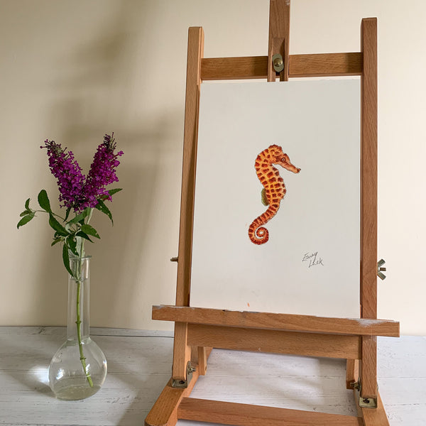 Orange Seahorse - Original (1 of 1)