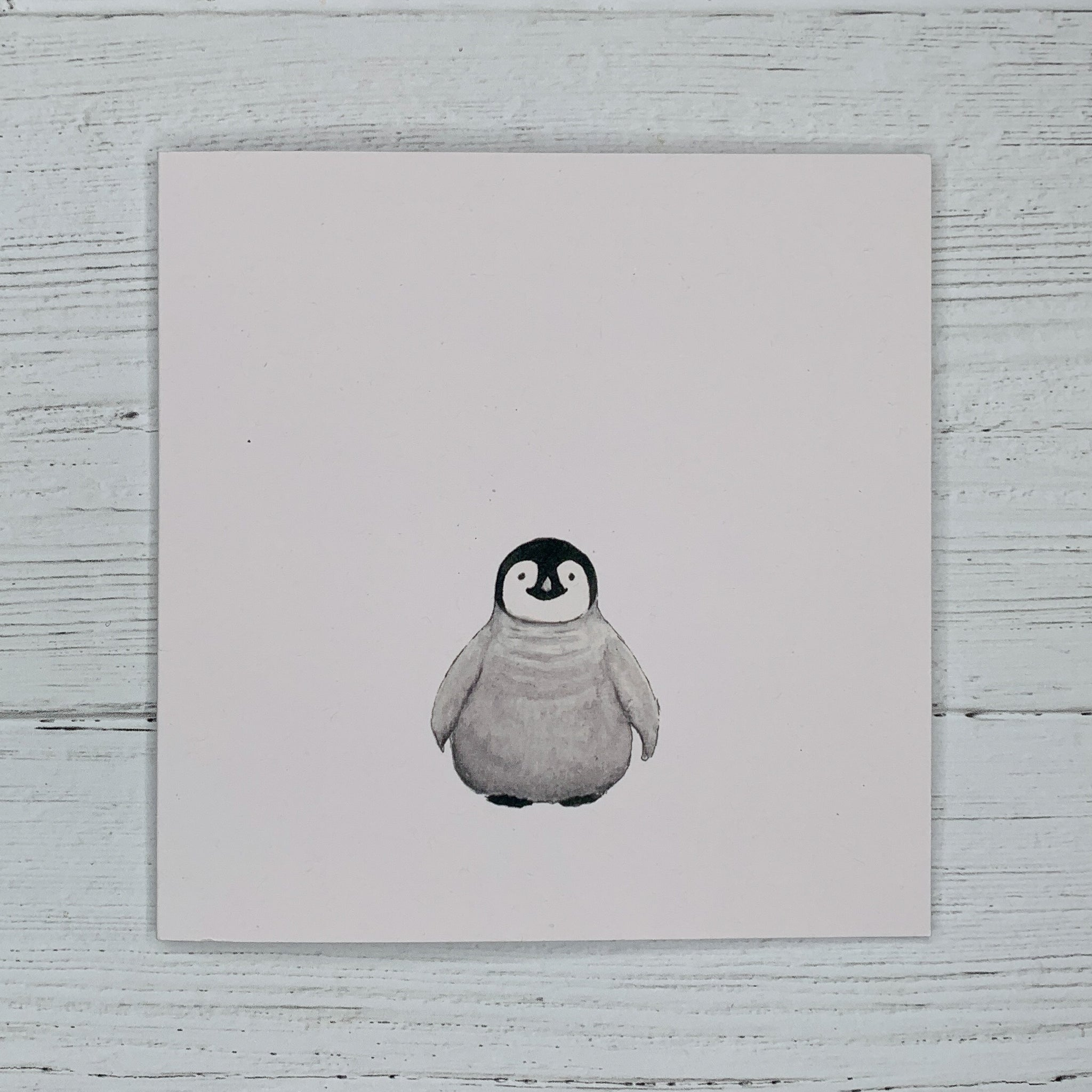 Penguin Chick, Greetings Card