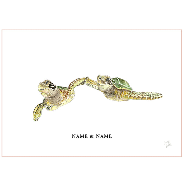 Turtles - Fine Art Print