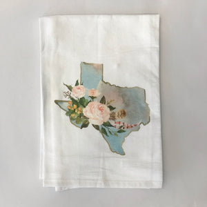 Kitchen, Texas dish towel