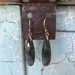 Jewelry, labradorite drop earrings