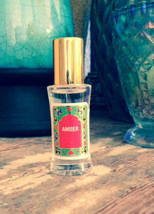 Fragrance, amber oil, 1/3 oz