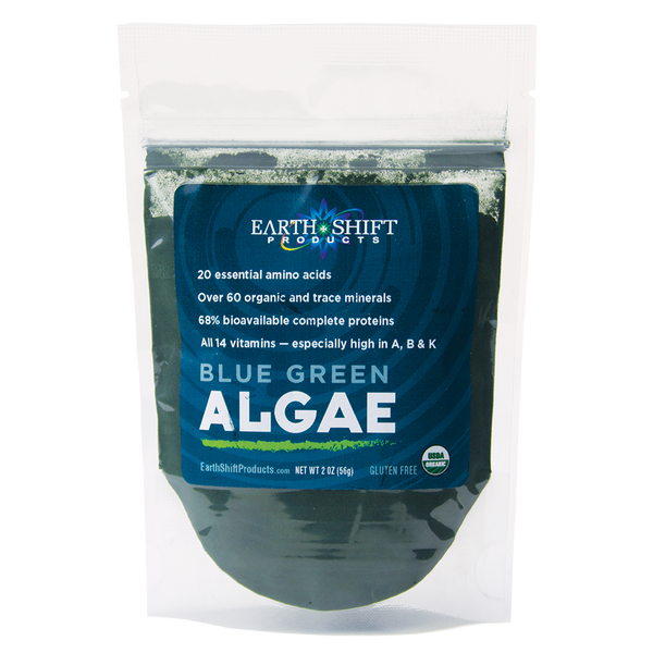 ORGANIC / RAW BLUE GREEN ALGAE