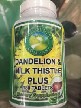 Dandelion & Milk Thistle Plus (Herbal Blend)