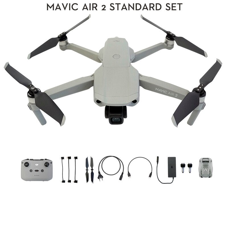 DJI Mavic Air 2 : Drone with 4k camera 34-min Flight Time