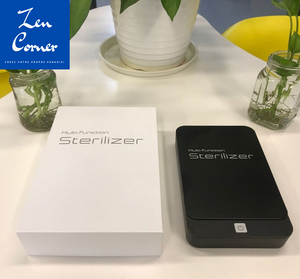 SterilizerPro™:  Device that sterilizes your small items with its powerful UV rays at less than 80 Euro - Zen Corner International