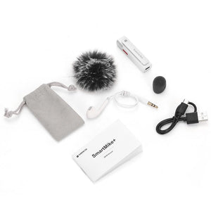 Sabinetek SmartMike Bluetooth Noise Reduction Microphone