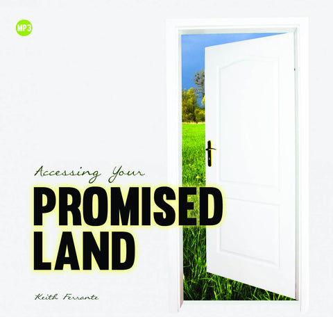 Accessing Your Promised Land - Mission Store