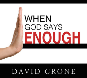 When God Says Enough - Mission Store