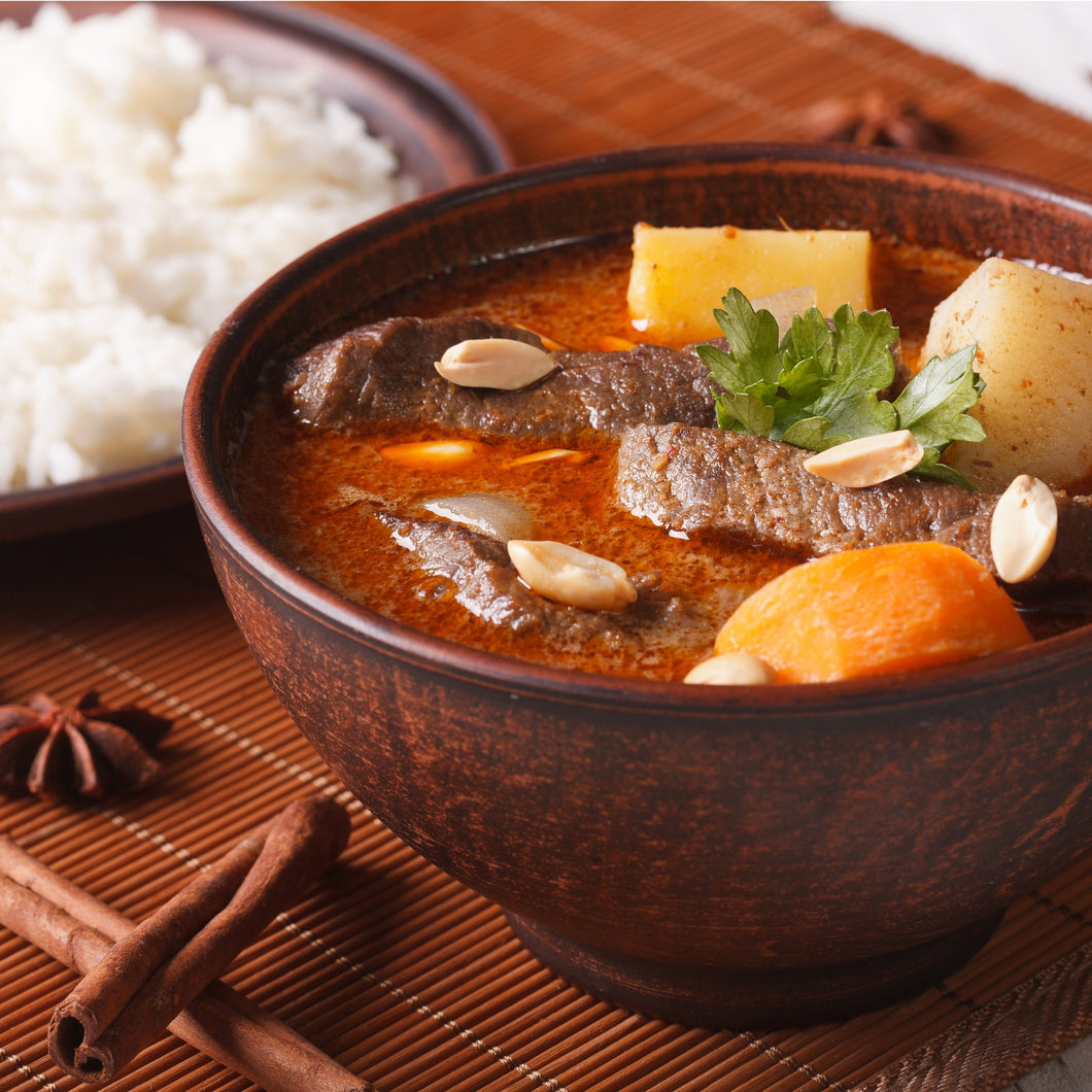 Beef Massaman Curry (600g - 2 Serves)