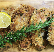 Parmesan & Rosemary Crusted Lamb Chops with Vegetables (2 Serves)