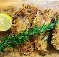 Parmesan & Rosemary Crusted Lamb Chops with Vegetables (4 Serves)