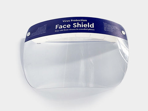 foam-padded face shields