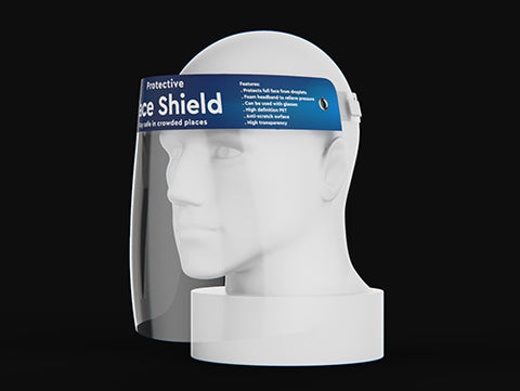 full face protective shields