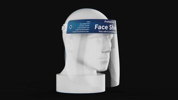 Pack of 1000 All Purpose Anti-Droplet Face Shields for $9.99 Each