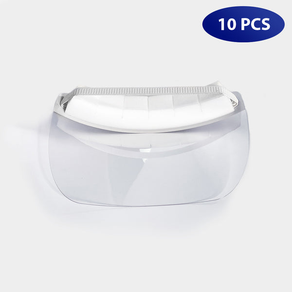 Pack of 10 All Purpose Anti-Droplet Face Shields for $16.99 Each
