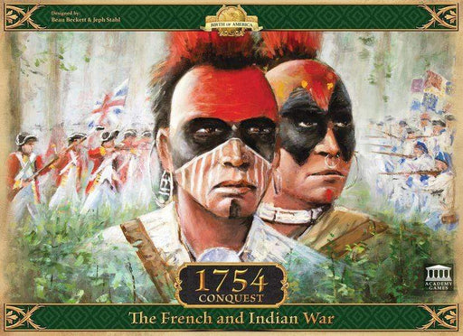 Board Games Academy Games 1754: Conquest – The French and Indian War