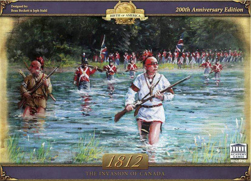 Board Games Academy Games 1812: The Invasion of Canada